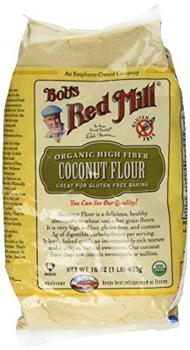 Bob's Red Mill Organic Coconut Flour, 16-Ounce Units